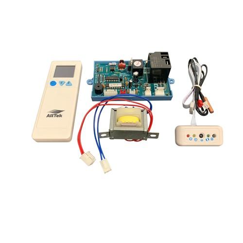 AllTek Universal Control System for Hi-Wall Mount Mini Split AC, including control board, transformer & remote control