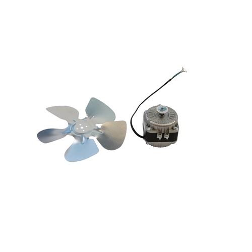 AllTek Condensor Fan Motor with Fan Blade & Base,220V/60HZ