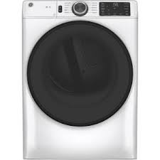 General Electric 4.5 C/F Front Load Electric Dryer,  10 Cycles, Energy Star, GFD55ESSNWW, White