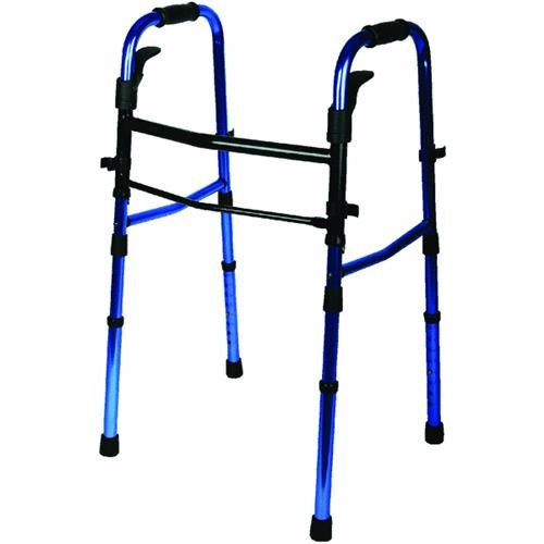 Medline Medline Folding Walker With Wheels