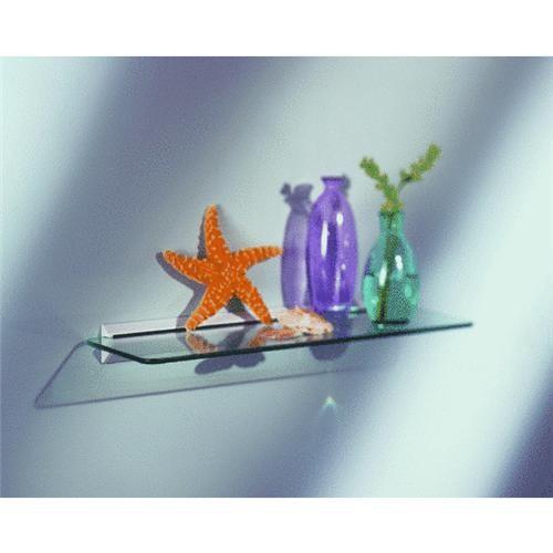 Knape & Vogt Clear Glass Shelf