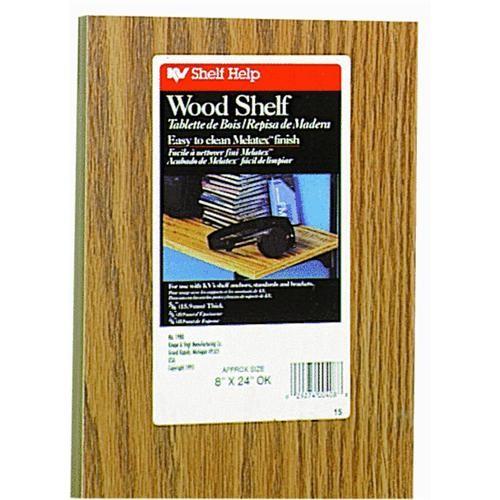 Knape & Vogt All-Purpose Oak Laminate Shelf