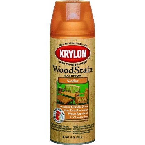 Krylon/Consumer Div Krylon Exterior Semi-Transparent Spray Stain