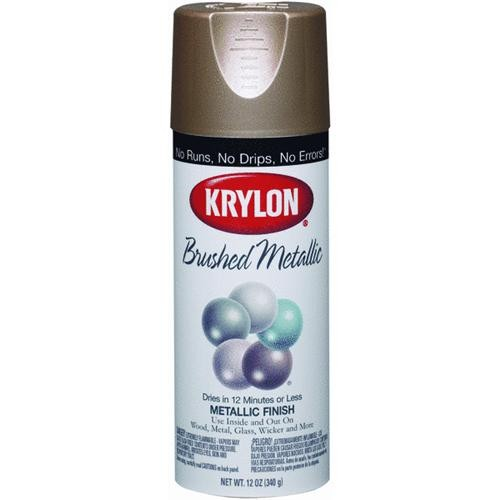 Krylon/Consumer Div Krylon ColorMaster Brushed Metallic Spray Paint