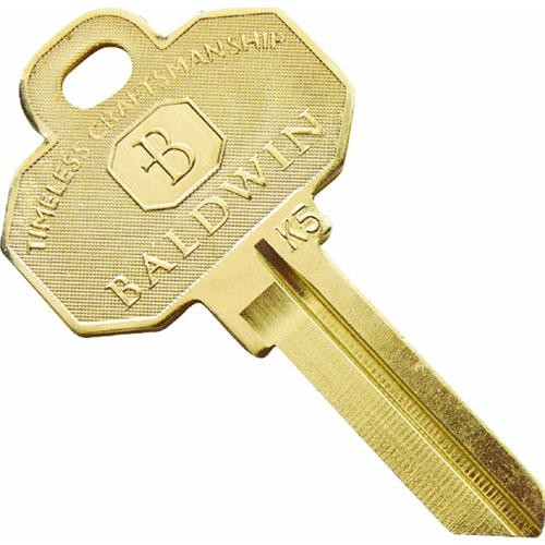 Kwikset Kwikset Baldwin C House Key Blank