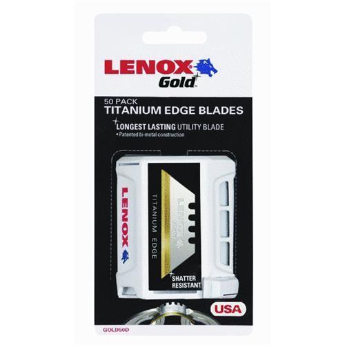 Lenox Lenox Gold Titanium Edge Utility Knife Blade