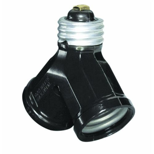 Leviton Twin Socket Adapter