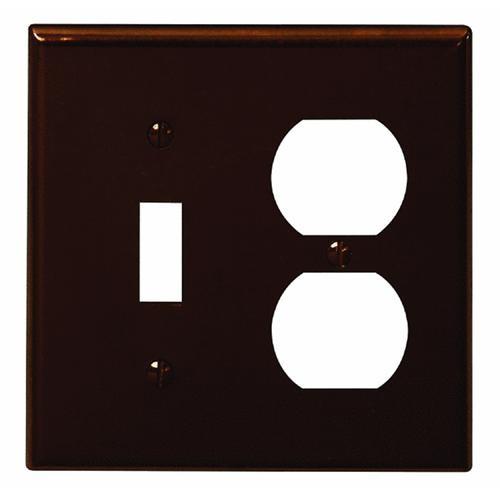 Leviton Plastic Combination Wall Plate