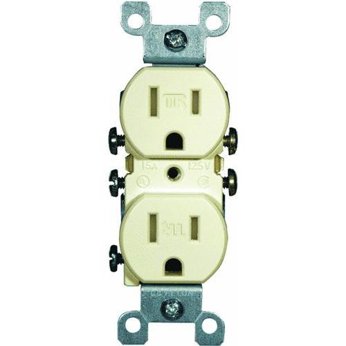 Leviton 15A Tamper-Resistant Duplex Outlet