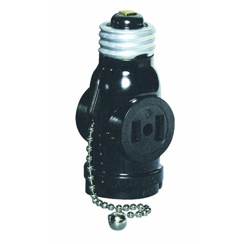 Leviton Pull Chain Socket Adapter