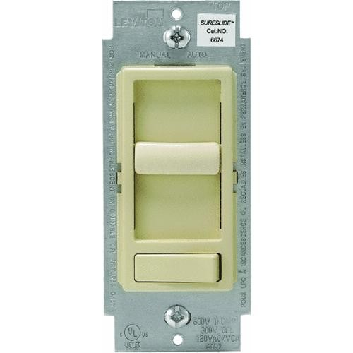 Leviton Leviton DECORA Universal Slide Dimmer Switch