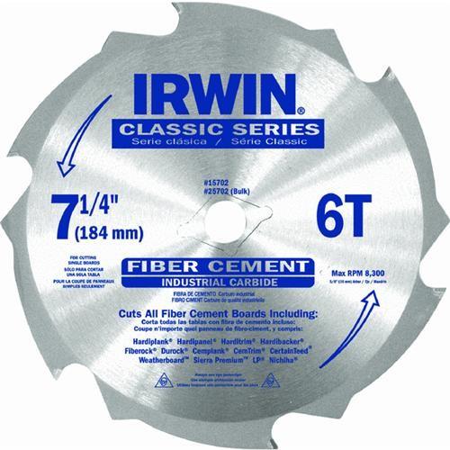 Irwin Fibercut Fiber Cement Siding Blade
