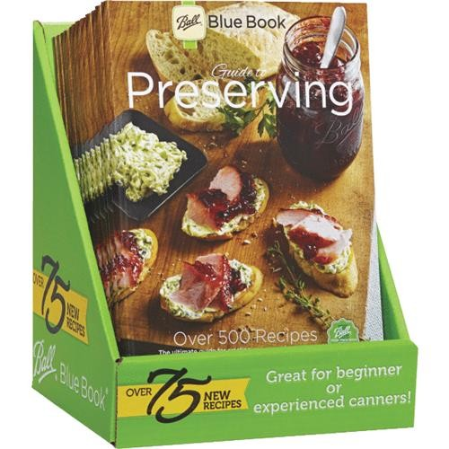 Jarden Home Brands Ball 37th Edition Blue Preserving Book