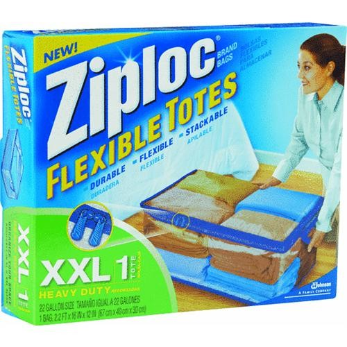 Johnson S C Inc Ziploc Flexible Extra Extra Large Clothes Storage Bag
