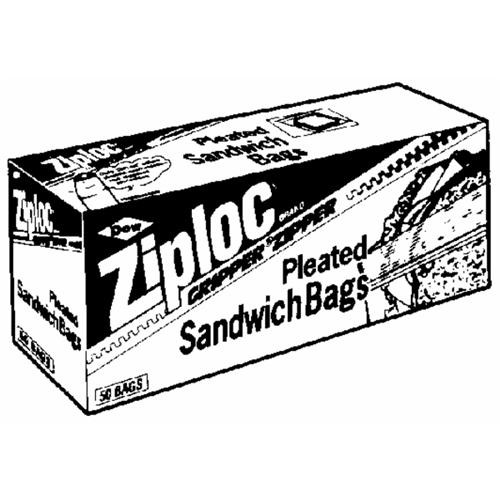Johnson S C Inc Ziploc Sandwich Food Storage Bag