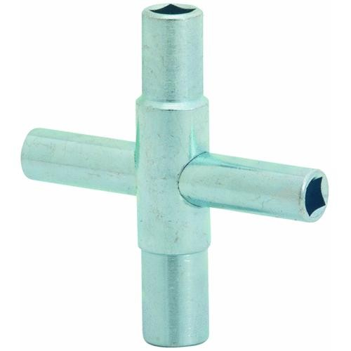 Jones Stephens Corp. 4-Way Lawn Faucet Key