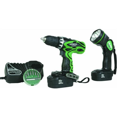 Hitachi Power Tools 18V Drill And Driver With Flashlight