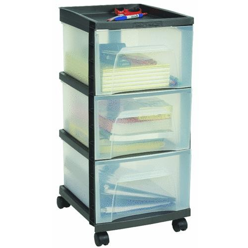 Homz Products/Storage 3-Drawer Storage Unit