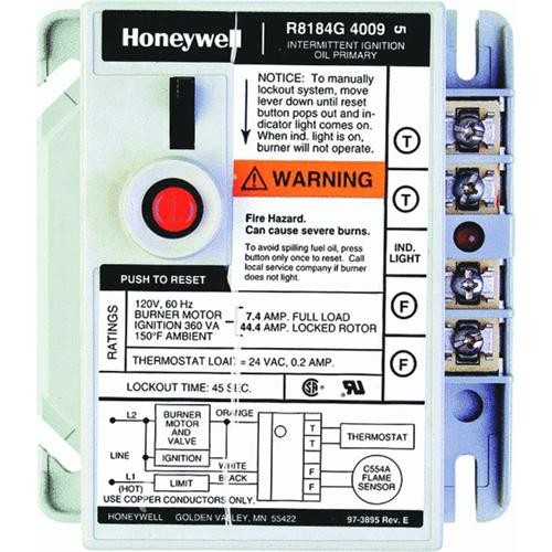 Honeywell International Oil Burner Control