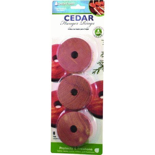 Household Essentials Cedar Hanger Rings