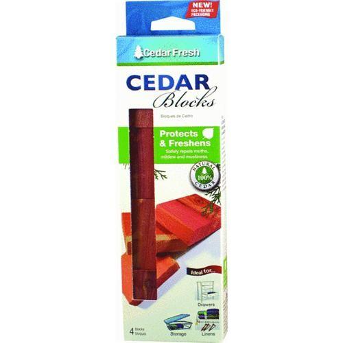 Household Essentials Cedar Fresh Cedar Blocks