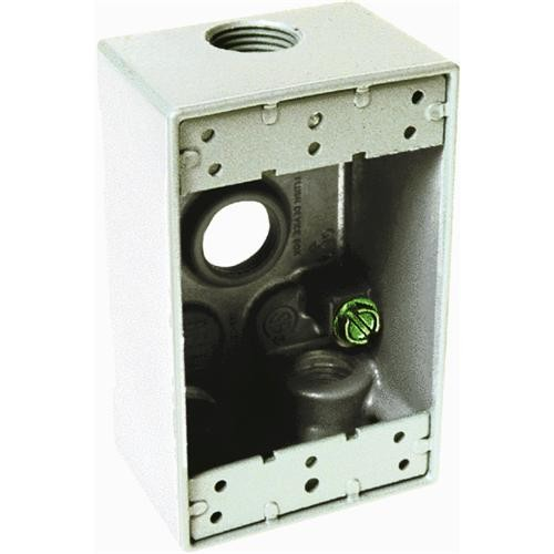 Hubbell Weatherproof Outdoor Outlet Box
