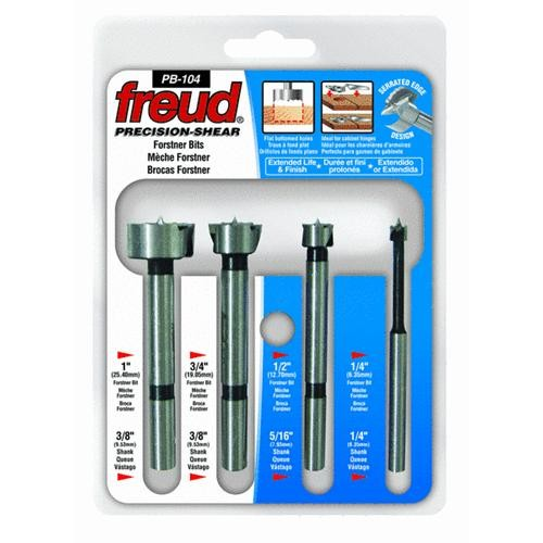 Freud Inc Freud 4-Piece Forstner Bit Set