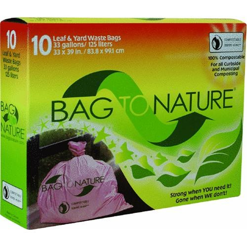Indaco Manufacturing Bag-To-Nature Compositable Lawn And Yard Bag