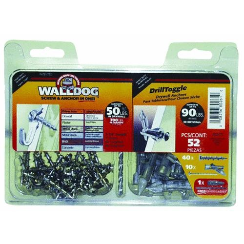 Hillman Fastener Corp Walldog and Drill Toggle Kit