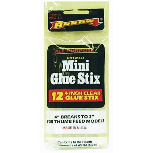 Arrow Fastener All-Purpose Mini Glue Stix