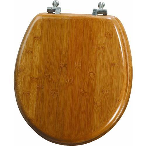 Bemis/Mayfair Bamboo Veneer Round Toilet Seat