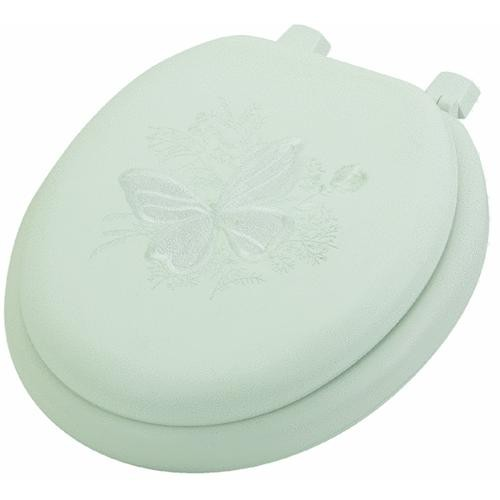 Bemis/Mayfair Premium Soft Embroidered Butterfly Toilet Seat