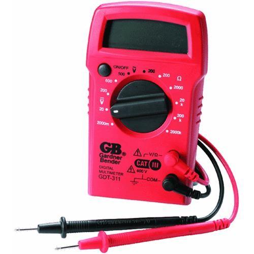 GB Electrical Manual Digital Multi-meter