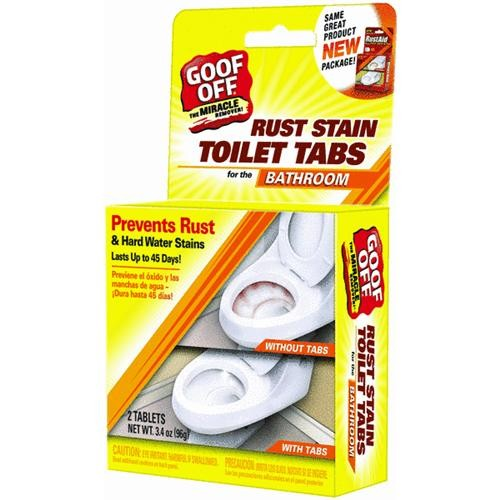 William Barr RustAid Toilet Drop In Tabs