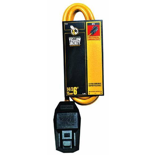 Woods Ind. Contractor Grade GFI Extension Cord