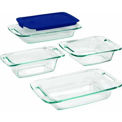 World Kitchen/Ekco Pyrex Easy Grab 5-Piece Bakeware Set