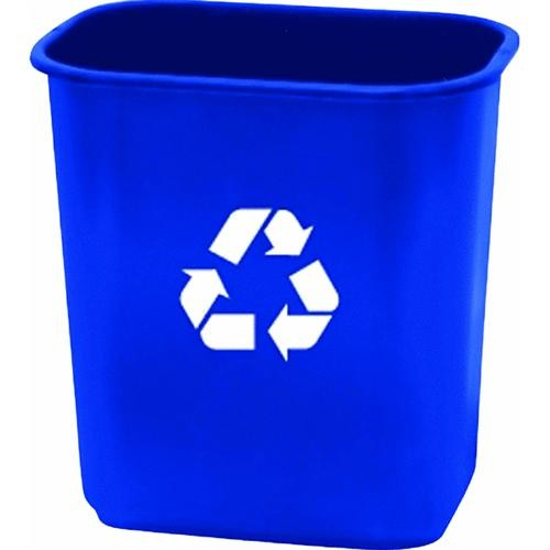 United Solutions 28 Quart Recycling Office Wastebasket