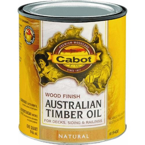 Valspar/Cabot Inc. Water Reducible Australian Timber Oil Exterior Oil Finish