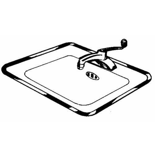 Vance Ind. Ardee Stainless Steel Sink Frame