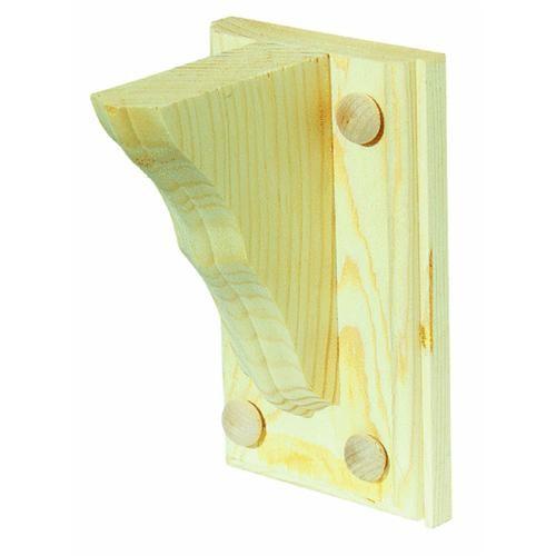 Waddell Mfg Co Shelf Bracket With Backplate