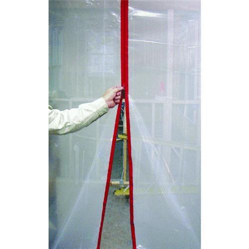 Surface Shields Inc. Zip N Close Peel and Stick Wall Zipper