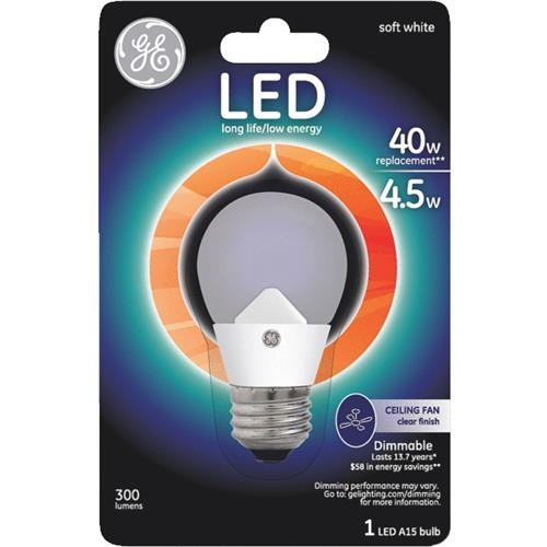 GE Lighting GE Dimmable A15 LED Light Bulb
