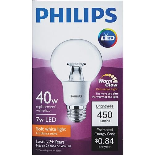 Philips Lighting Co Philips Warm Glow G25 Medium Dimmable LED Decorative Globe Light Bulb