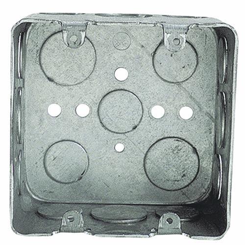 Thomas & Betts 2-Gang Steel Square Box