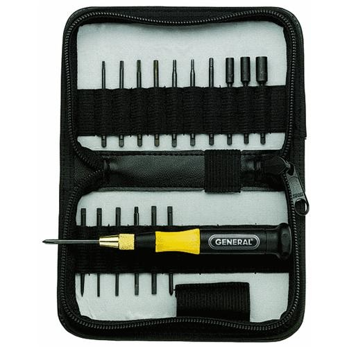 General Tools 18-Piece Precision Screwdriver Set