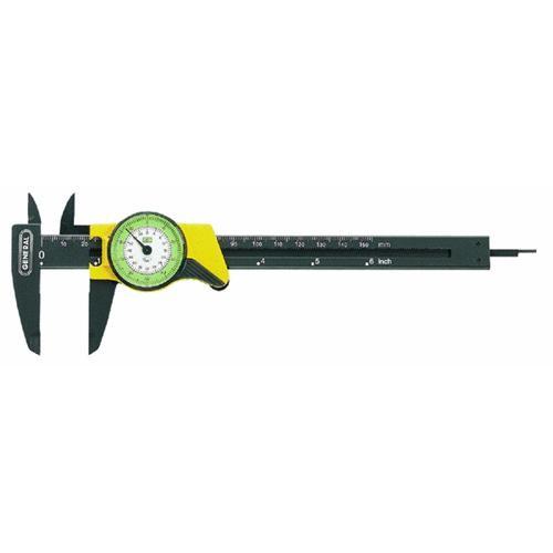 General Tools Plastic Inch Dial Caliper