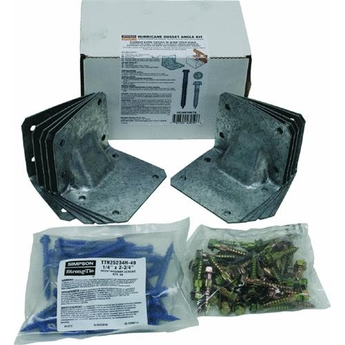 Simpson Strong-Tie 10-Piece Gusset Angle Hurricane Tie Kit