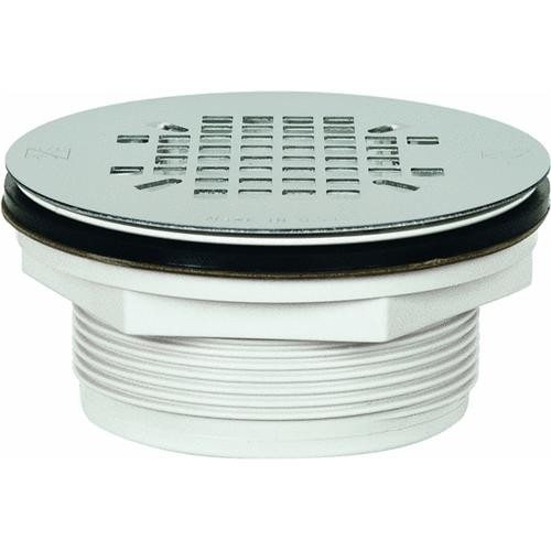 Sioux Chief PVC No-Caulk Stainless Steel Shower Drain Strainer
