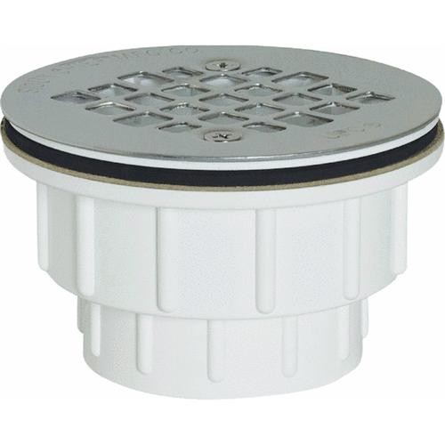 Sioux Chief Solvent Weld Stainless Steel Shower Drain Strainer