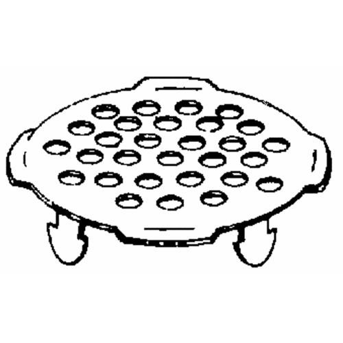 Sioux Chief Stainless Steel Pipe Floor Strainer